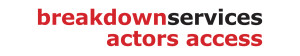 Breakdown Services Actors Access Logo
