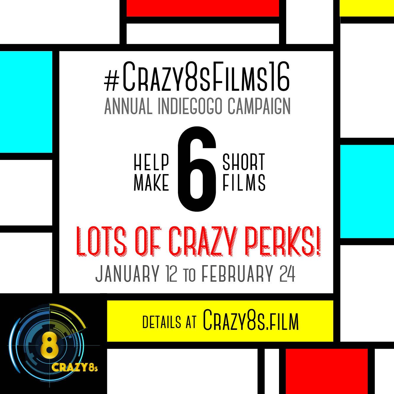 Indigogo - Crazy8s