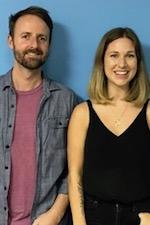 Megan Bayliss & Andrew Thompson with Candice Elzinga